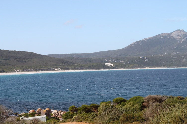 view from bettys to normans beach