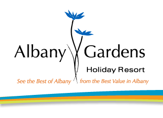 albany gardens sign