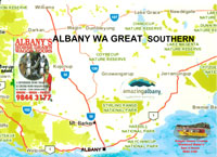 Albany Albany Maps Amp South West Australia Map It Out