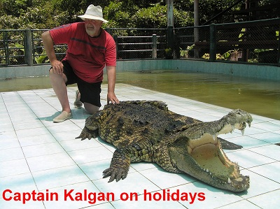 captain kalgan on holidays