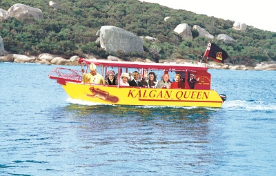 Every one has been on the Kalgan Queen