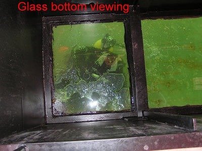 glass bottom