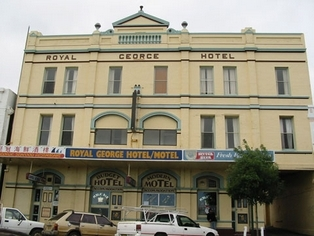 royal george hotel albany